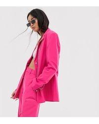 Collusion Blazer mit Kettendetail - Pink