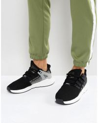 outlet store 42081 1387e adidas Originals - Eqt Support 93 17 Trainers In Black By9509 - Lyst