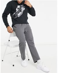 Nike Riñonera negra con estampado - Negro