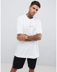 Good For Nothing - Oversized T-shirt In White With Small Logo - Lyst
