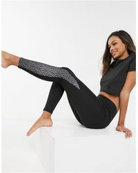 South Beach – Performance-Leggings - Schwarz