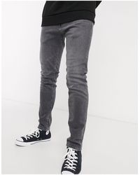 Edwin ED85 - Jean skinny - Gris