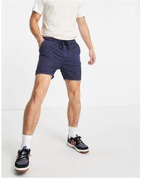 Bolongaro Trevor Shorts con cordón ajustable - Azul