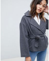 Native Youth - Cropped Jacket With Tie Waist - Lyst