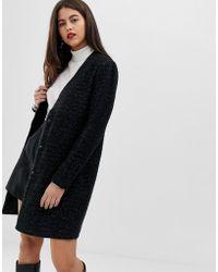 Vila Slim Coat - Black