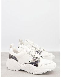 AllSaints Tamaya Chunky Runner Sneakers - White