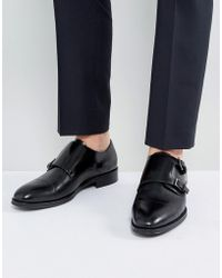 ALDO - Mantesana Leather Monk Shoes In Black - Lyst