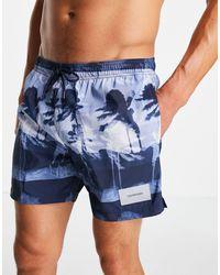 Calvin Klein Shorts - Azul