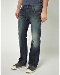 G-Star RAW G Star Heller Low Bootcut Jeans - Blue