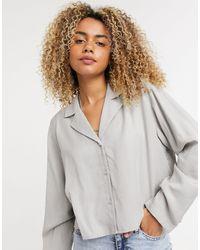Weekday Блузка -neutral - Естественный