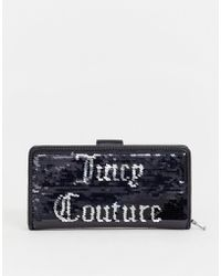 Juicy Couture Juicy Black Label Laton Purse In Black Sequin