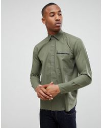 Bolongaro Trevor - Tape Pocket Shirt - Lyst