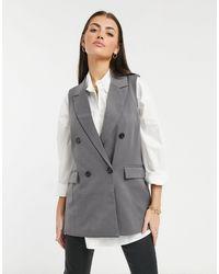 Vero Moda Tailored Waistcoat - Grey