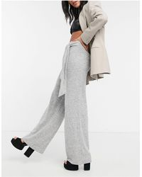 Lipsy Pantalones es - Gris