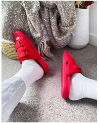 ASOS Tech Lounge Slippers - Rood