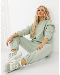 ASOS Tracksuit Oversized Sweat / Oversized jogger - Green