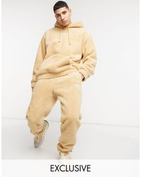 Reebok Classics Toast Co-ord Trackies - Natural