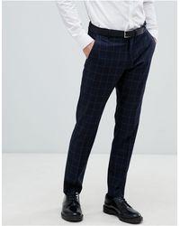 SELECTED Slim-fit Pantalon - Grijs