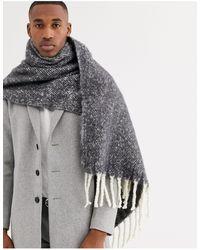 ASOS Blanket Scarf - Gray