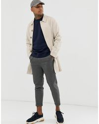 ASOS Single Breasted Lightweight Trench Coat - Multicolour