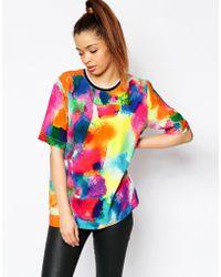 Jaded London - Watercolour T-shirt - Lyst