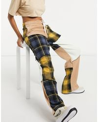Jaded London Pantalones cargo holgados - Multicolor