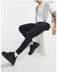 Pull&Bear Join Life - Joggers avec poches zippées - Noir