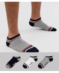 Pepe Jeans Trainer Socks Odin - Multicolour