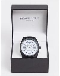 Brave Soul Oversized Watch - Black