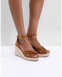 Pimkie Espadrille Sandal Wedges - Metallic