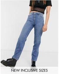 Collusion X 005 – Jeans mit gerade geschnittenen Beinen - Blau