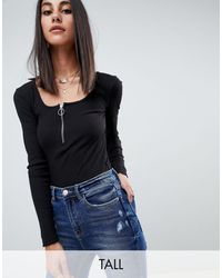 Missguided - Zip Front Body - Lyst