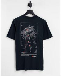Berghaus – 1975 everest expedition – t-shirt - Schwarz