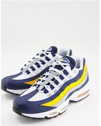 Nike Air Max 95 - Sneakers blu navy notte/bianco