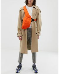 ASOS - Cross Body Harness Bag In Orange - Lyst