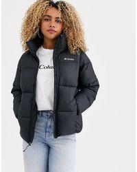 Columbia Черная Куртка Puffect-черный - Многоцветный