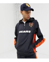 8fc4eb6b Nfl Chicago Bears Windbreaker Jacket Exclusive To Asos - Blue