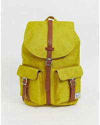 Herschel Supply Co. Dawson Backpack In Ochre 20.5l - Yellow