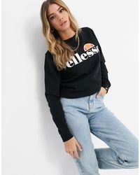 Ellesse Oversized Sweatshirt - Black