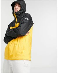 The North Face Желтая Куртка Mountain Q-желтый