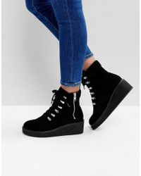 ASOS - Racer Chunky Hiker Boots - Lyst