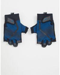 Nike Training - Guanti da allenamento da uomo blu