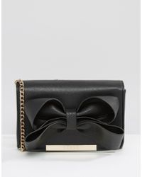 Lipsy - Bow Detail Cross Body Bag - Lyst