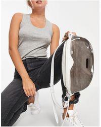 Rebecca Minkoff Marsupio bianco con zip - Grigio