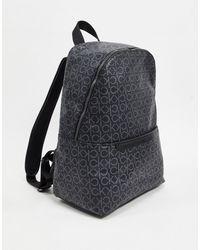 Calvin Klein Sac à dos avec logo monogramme - Noir