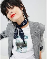 Pieces - Necktie Bandana - Lyst
