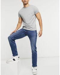 Tom Tailor Piers - jean slim - clair - Bleu