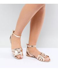 d5ee9acf791d Park Lane - Wide Fit Leather Summer Shoes - Lyst