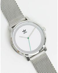 adidas Originals Adidas District M2 Mesh Watch - Metallic