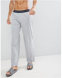 French Connection Waistband Lounge Pant - Gray